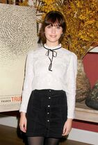 In this image released by Starpix, Felicity Jones attends a press event for her film,