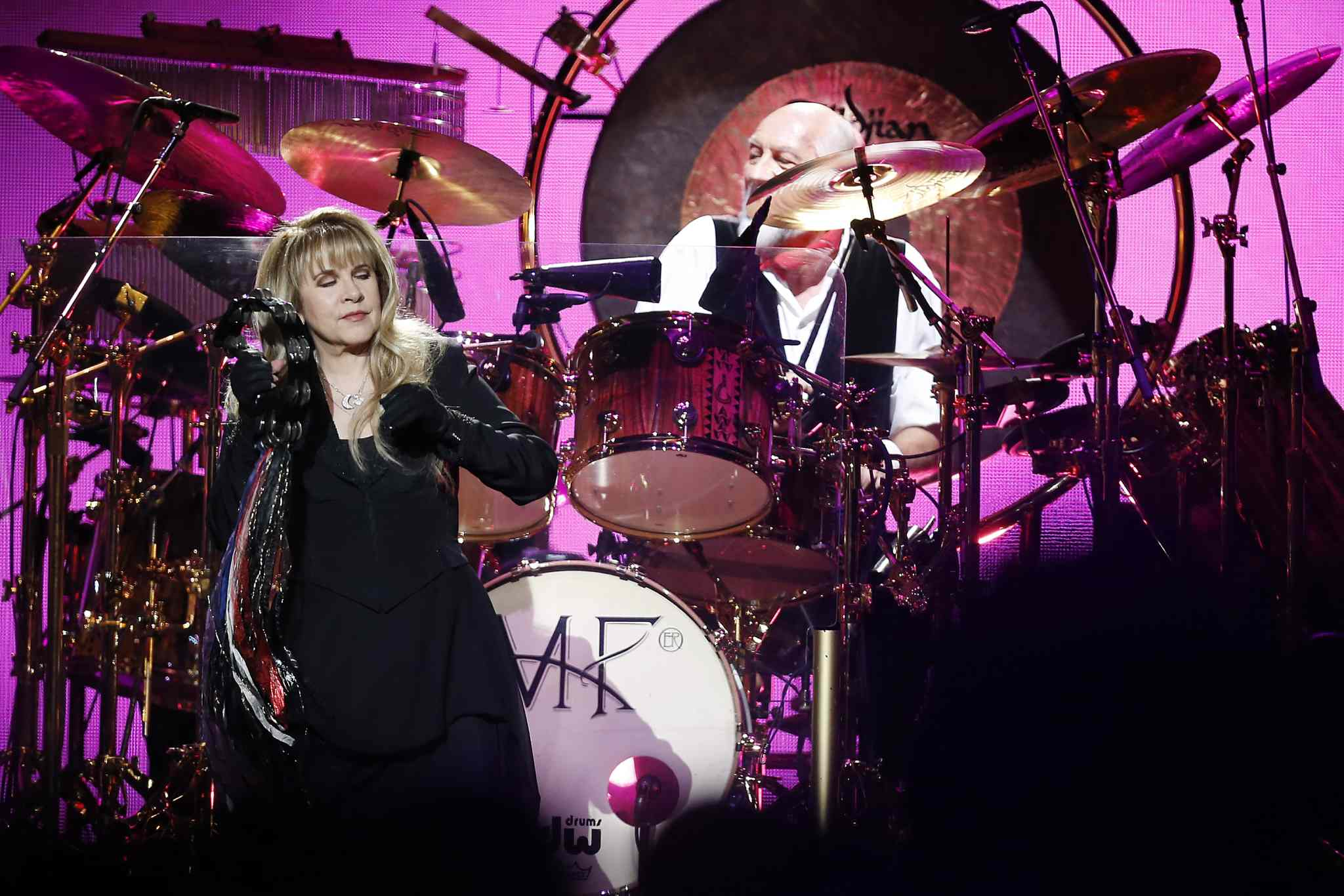 Fleetwood Mac performs at MTS Centre in Winnipeg Monday.