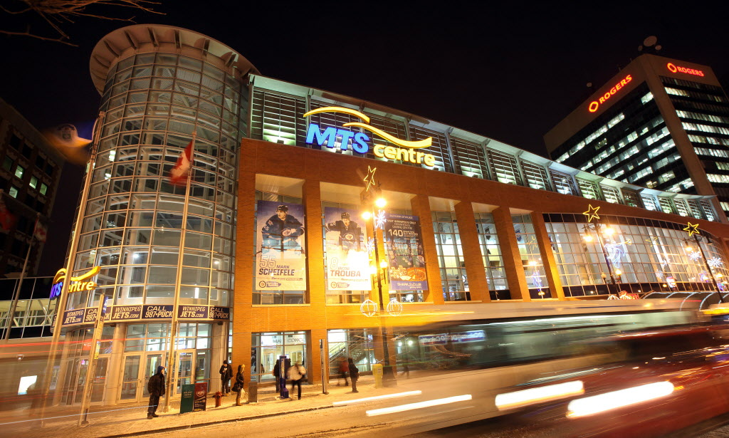 The MTS Centrehas two major tenants, the Winnipeg Jets and the Manitoba Moose.