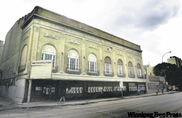 The Met, on Donald Street across from the MTS Centre, still sits vacant today.