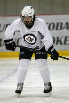 Mathieu Perreault is expected to skate on the fourth line against the Blackhawks.