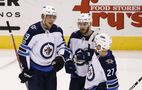 Hockey feeling fun again for Laine after dry spell