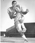 Leo Lewis was pure electricity whenever he touched the ball, and was particularly dangerous on kick returns.