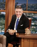 In this Dec. 15, 2014 photo released by CBS, host Craig Ferguson appears on the set of