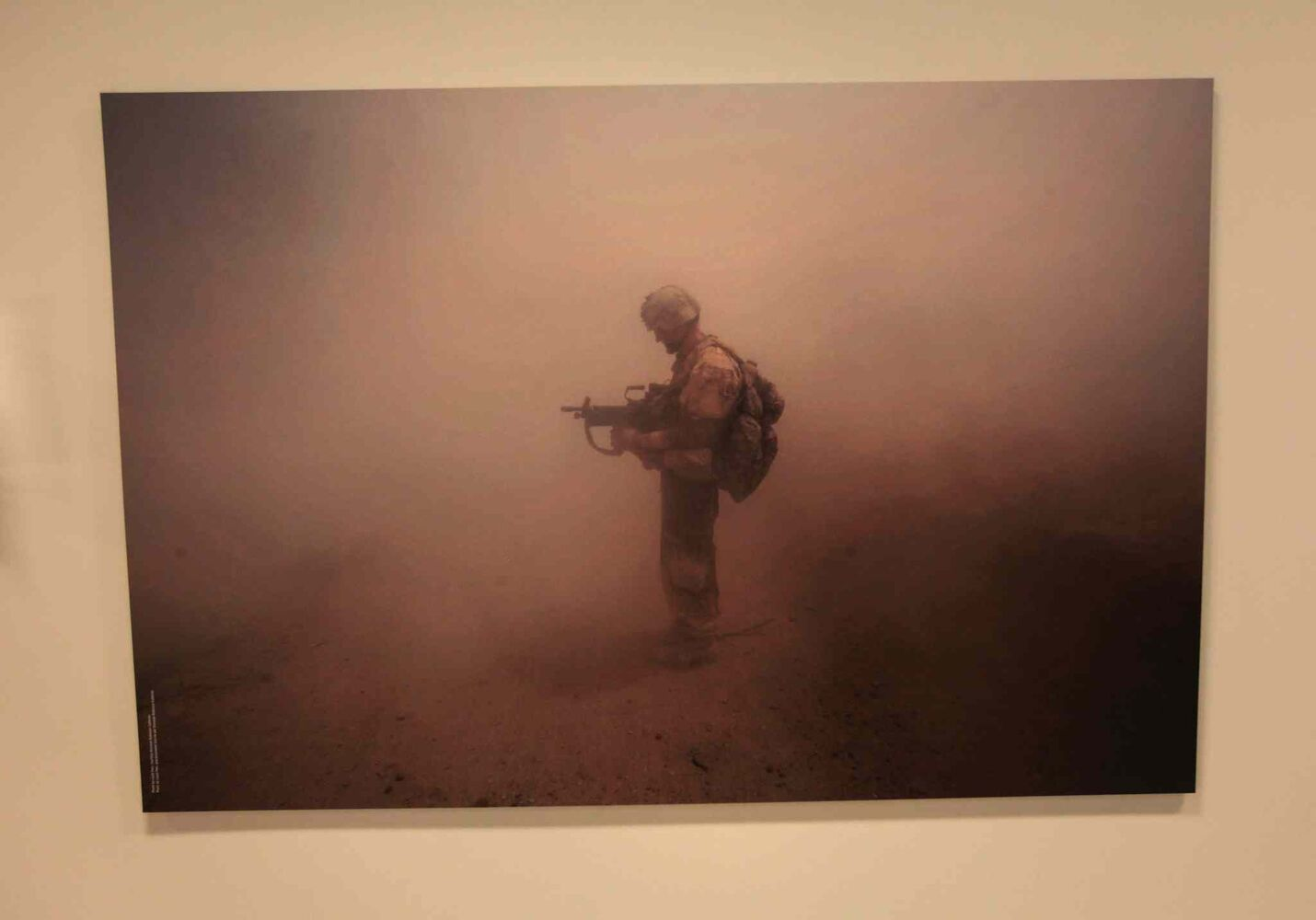 An image from Peace The Exhibition, from the Canadian War Museum.  (Ruth Bonneville / Winnipeg Free Press)
