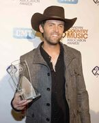 Dean Brody won the award for Album of the Year during the Canadian Country Music Association awards in Edmonton last September.