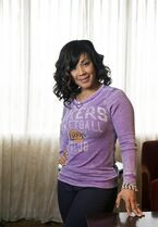 In this Thursday, Feb. 20, 2014 photo, singer Erica Campbell, one half of the duo Mary Mary, poses for a photo in Atlanta. Campbell is promoting her first gospel solo album,