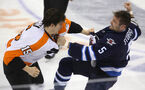 Photos: Flyers at Jets Feb. 12