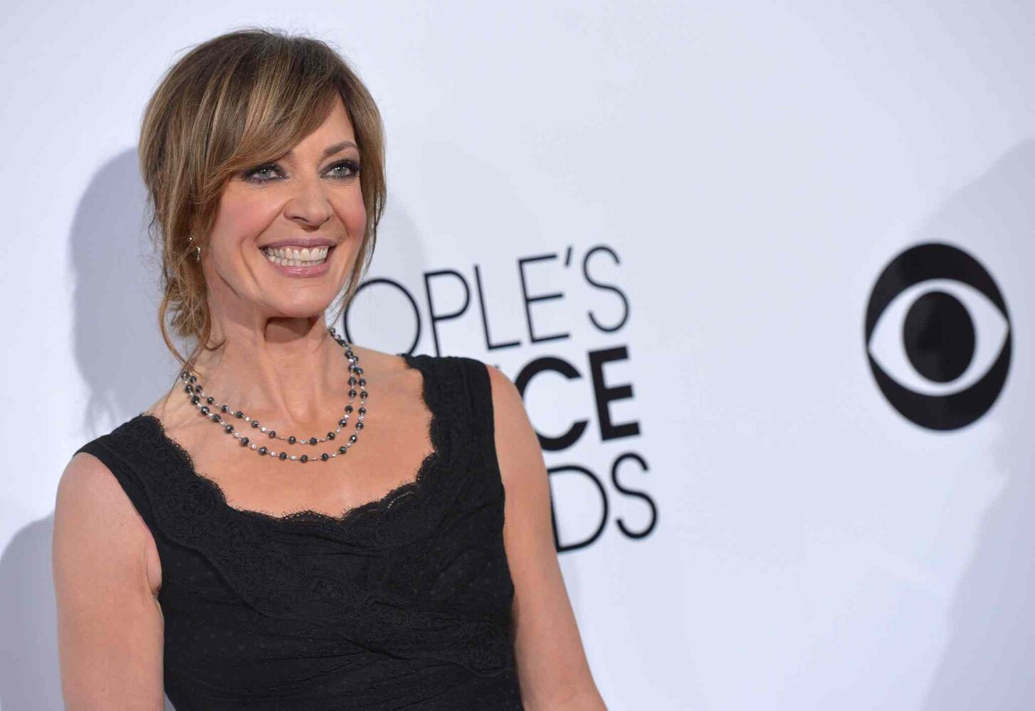 Allison Janney arrives at the 40th annual People's Choice Awards at the Nokia Theatre L.A. Live Wednesday. (John Shearer / Invision/ The Associated Press)