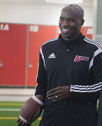 Former Bomber Milt Stegall will host a football camp in May of next year.