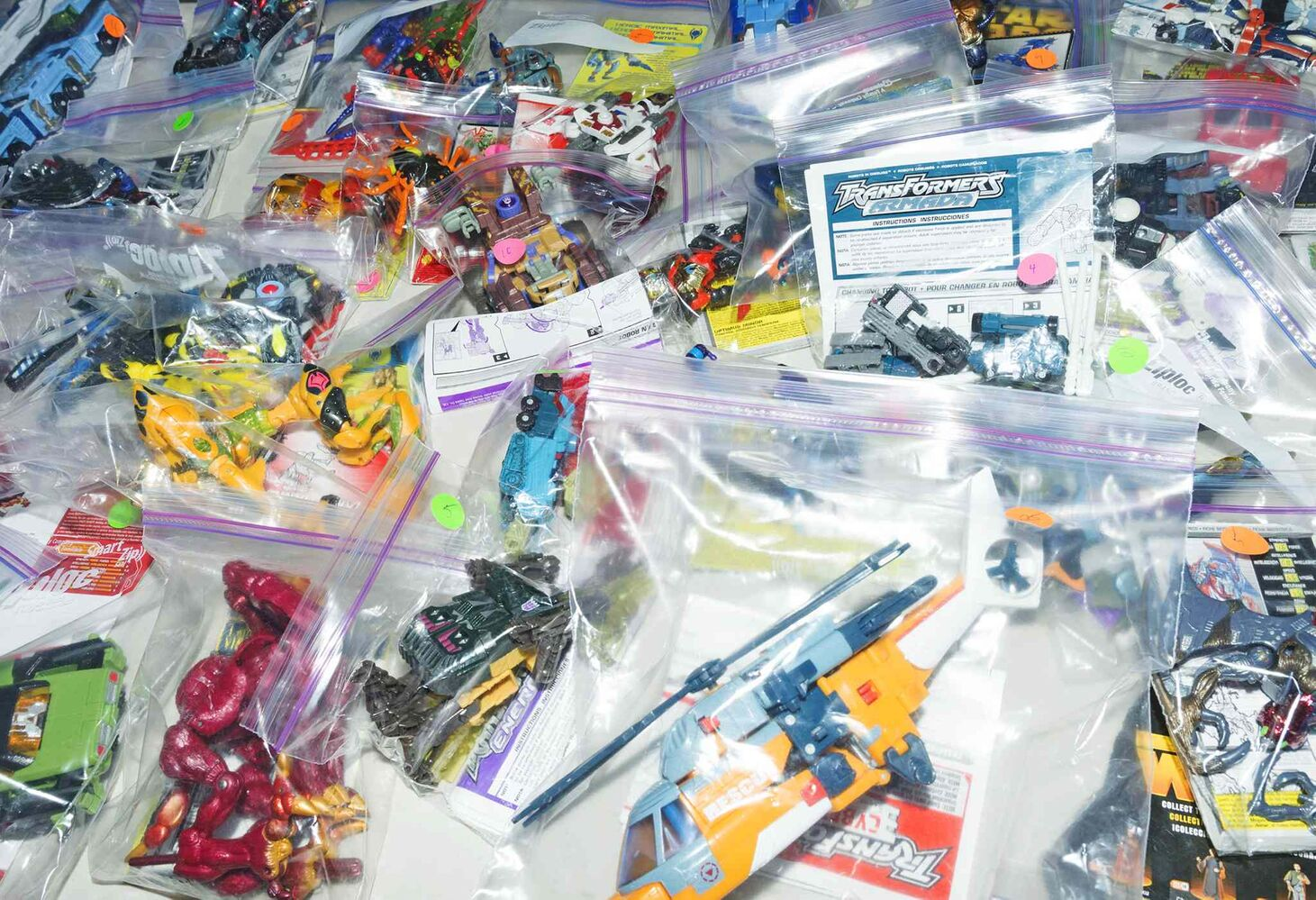 Vendors brought hundred of collectors items to Manitoba's first Transformers themed fan convention on Saturday at the Clarion Hotel.  (Sarah Taylor / Winnipeg Free Press)