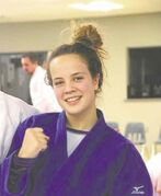 Natasha Burton, 17, from Portage la Prairie is competing in judo events at the 2015 Canada Winter Games.