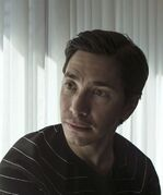 Actor Justin Long is pictured in a Toronto hotel as he promotes