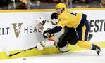 Hartman scores twice as Predators beat Golden Knights 4-1