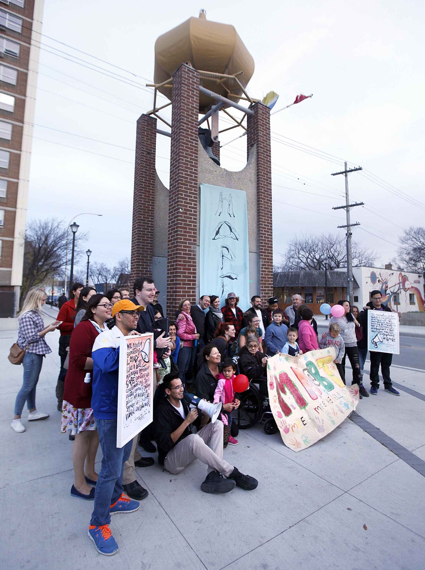 Fearless R2W was formed in 2014 in response to community calls to action at Meet Me at the Bell Tower events.