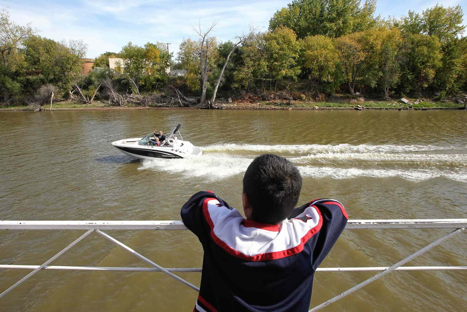 The Paddlewheel Queen has been a fixture on the Red River for decades but it may have sailed its last voyage. (Mike Deal / Winnipeg Free Press )