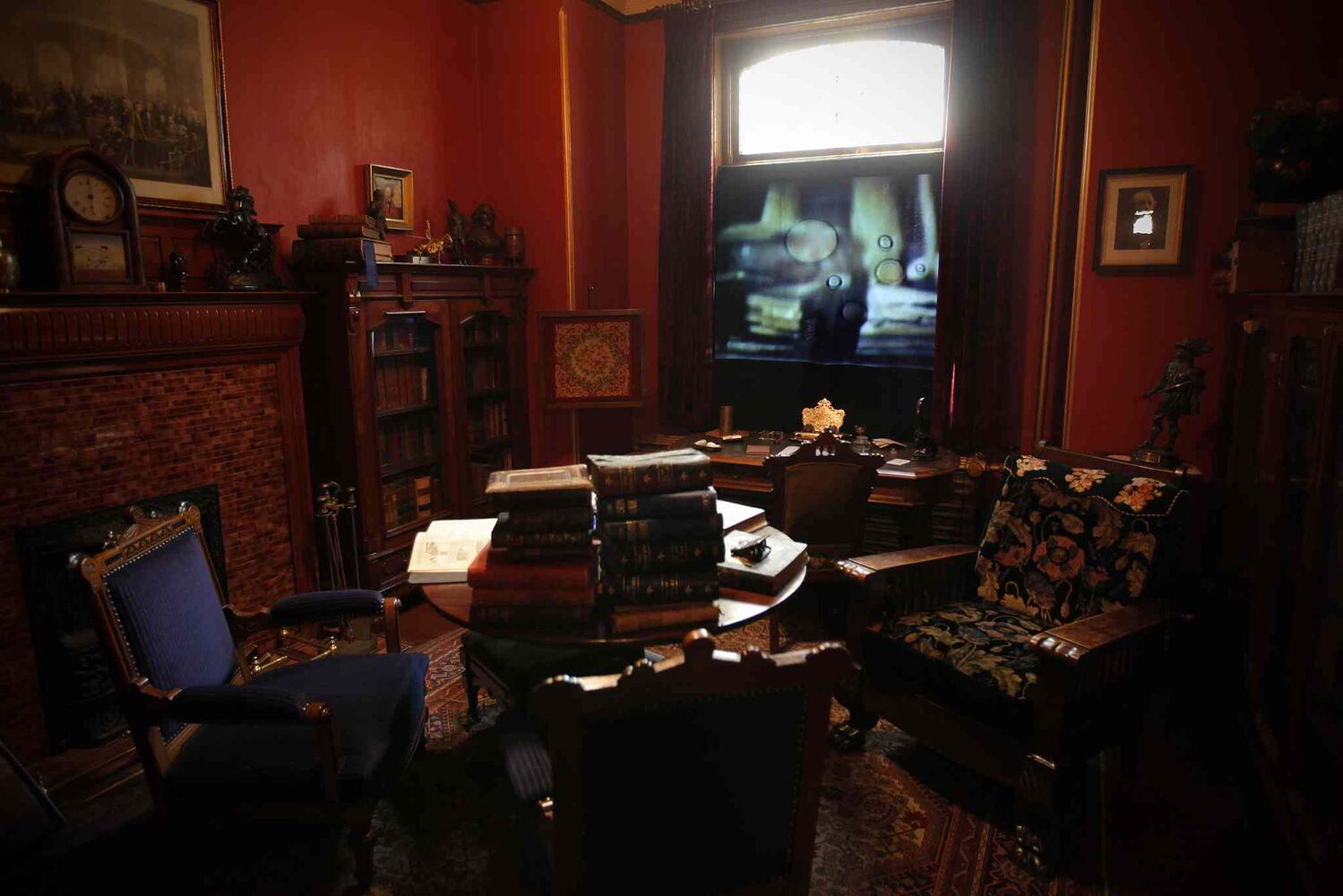 Winnipeg Stories: Sacrificial Memories by Clint Enns was part of a 2011 exhibit at Dalnavert called Phantasmagoria. The experimental film is made from discarded film footage found in thrift shops and flea markets in Winnipeg. (John Woods / Winnipeg Free Press archives)