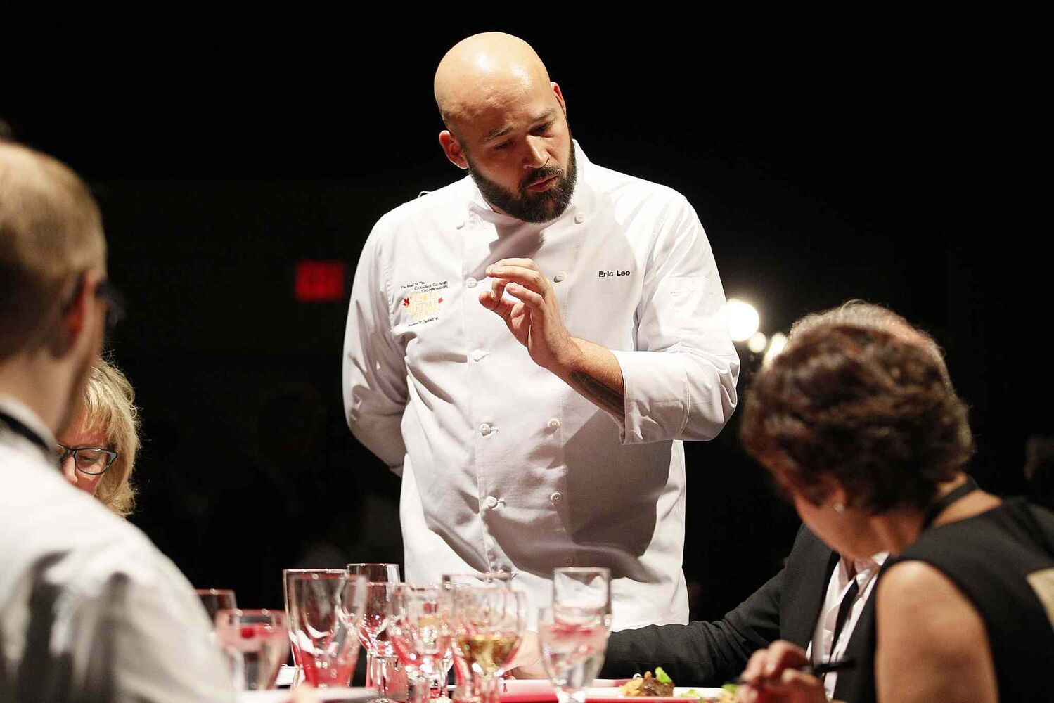 Chef Eric Lee  (Winnipeg Free )