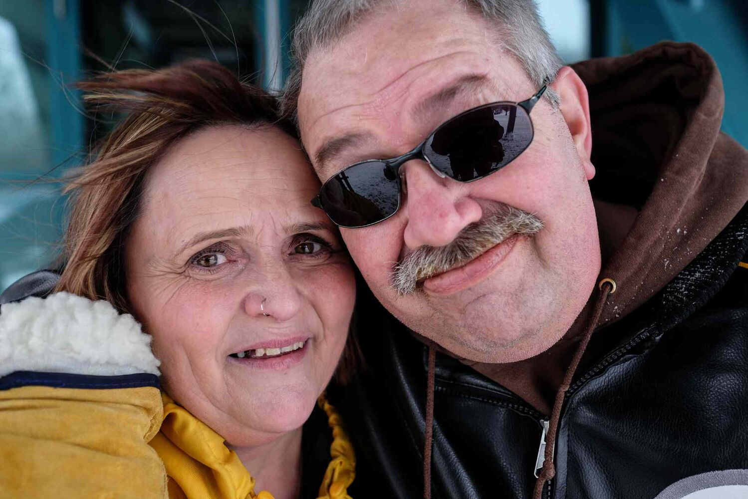 Cathy Hurd and Tom Carter have been together for 16 years. Last year Tom was diagnosed with frontotemporal dementia, a disease that will eventually take Tom's life.  MIKE DEAL / WINNIPEG FREE PRESS