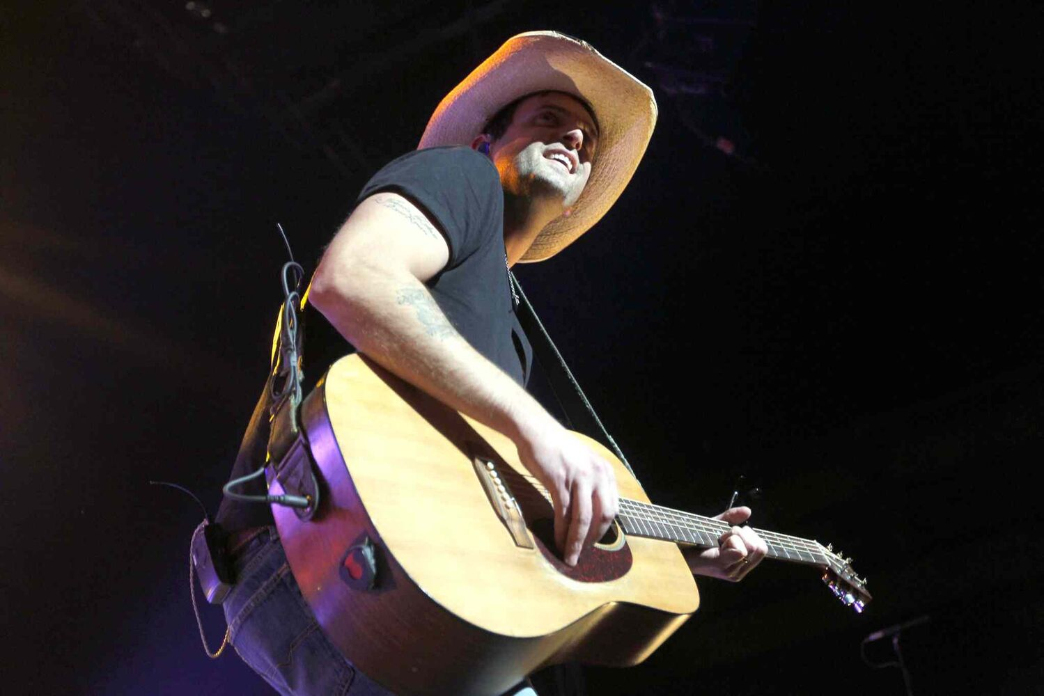 Dean Brody, 38, was born in  Jaffray, B.C. and now lives in Nova Scotia. He's released four studio albums. (Boris Minkevich / Winnipeg Free Press)