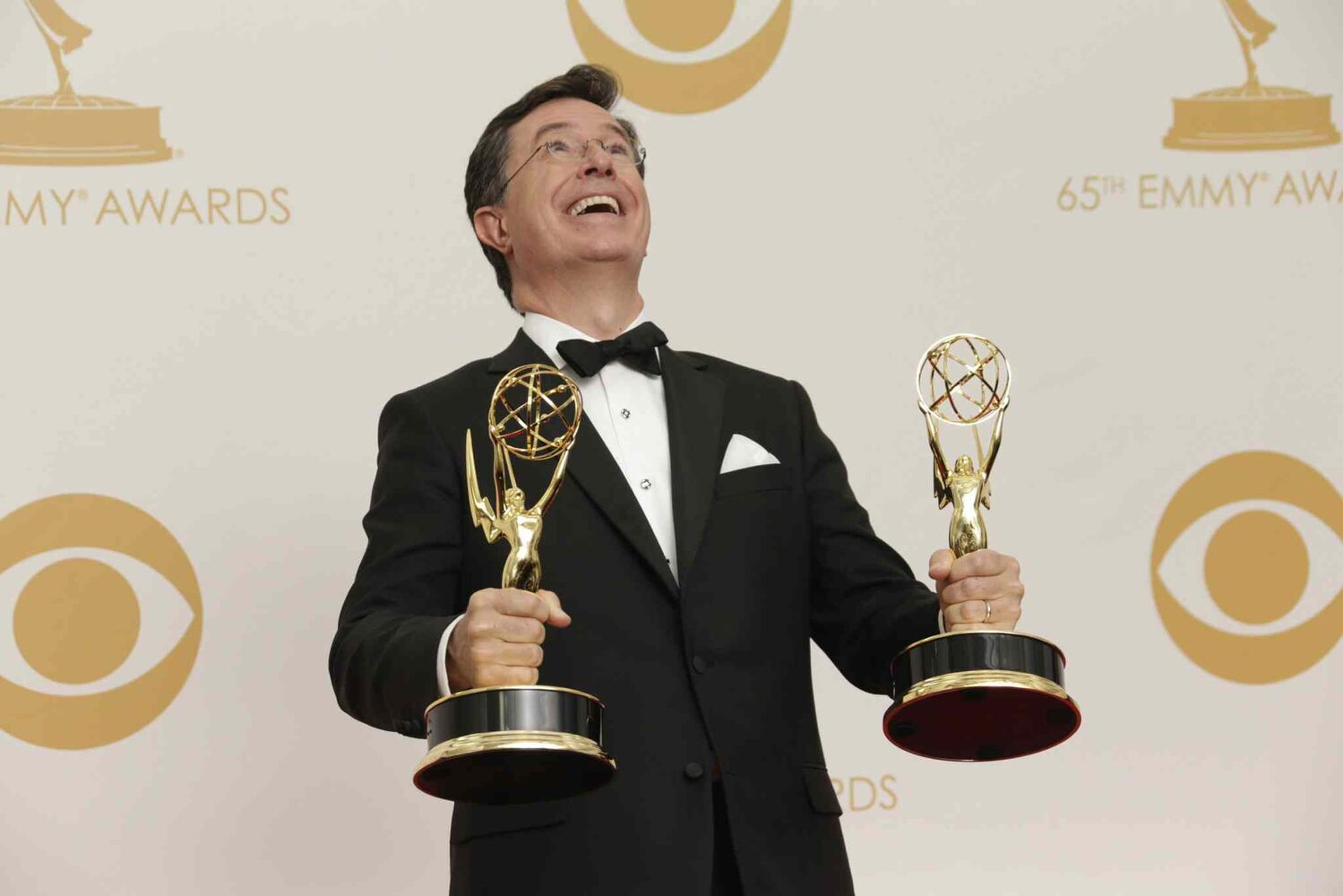 Stephen Colbert wins Outstanding Variety, Music Or Comedy Series.