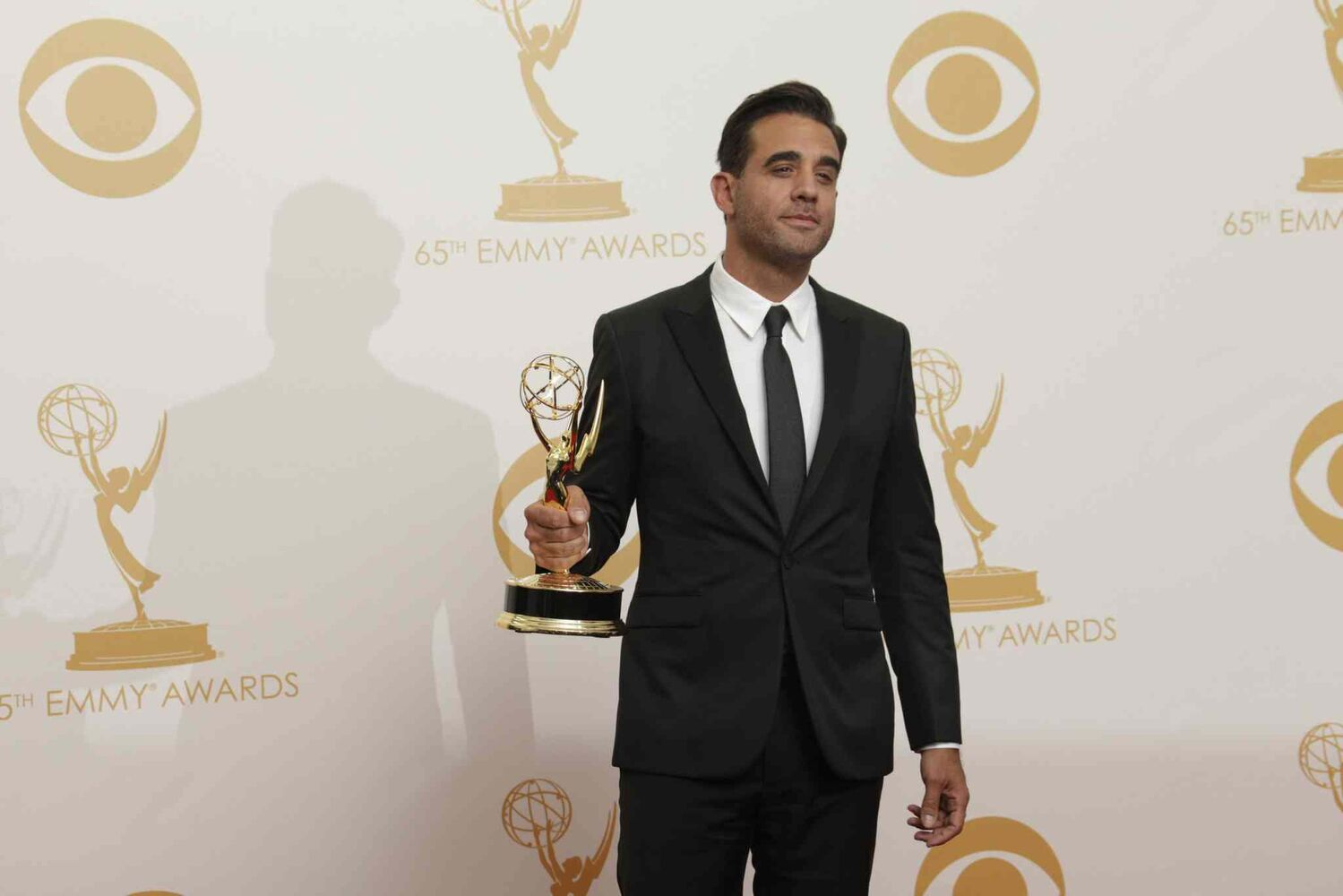 Bobby Cannavale backstage the 65th Annual Primetime Emmy Awards. Cannavale of Boardwalk Empire won supporting actor in a drama,  (Tribune Media MCT)