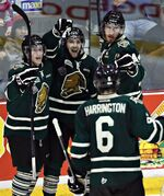 CHL: London Knights Upset Defending Champion Saint John Sea Dogs 5-3 At Memorial Cup