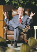 Warren Buffett didn't mention a successor in his letter to shareholders.