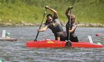 Manitoba women paddle canoe to heart-stopping bronze-medal finish