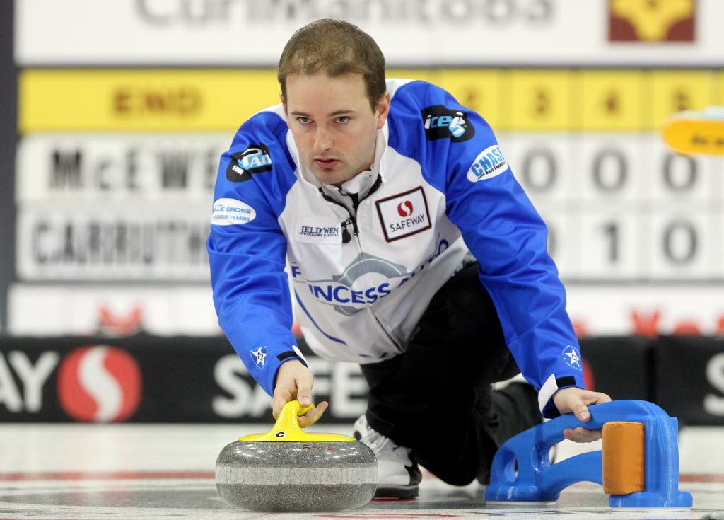 Reid Carruthers flew under the radar earlier this month at the Manitoba provincials.