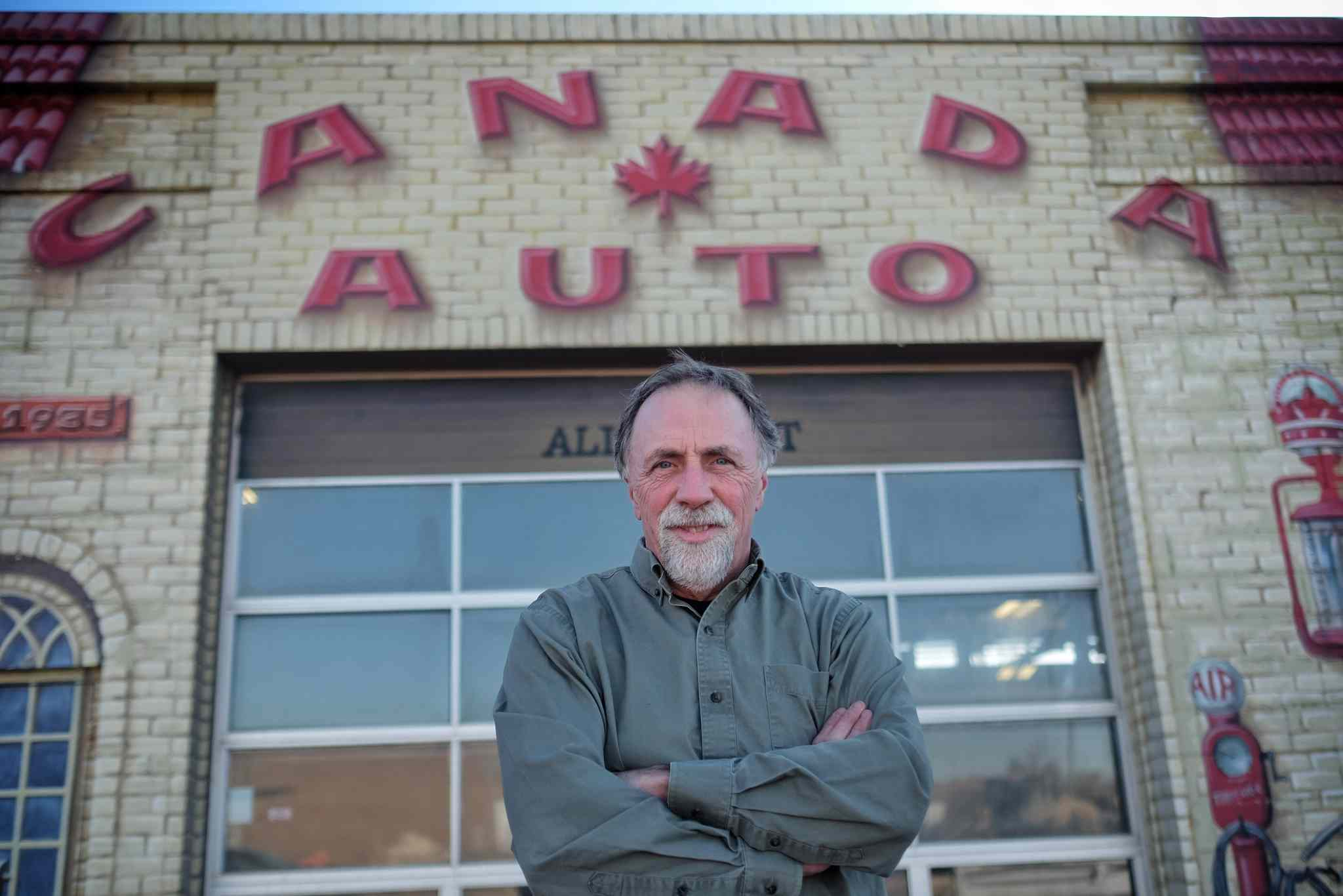 The city sold too much land with the old football stadium and intends to expropriate a chunk of Dan Iwanchuk's land at Canada Auto on St. Matthews Avenue.