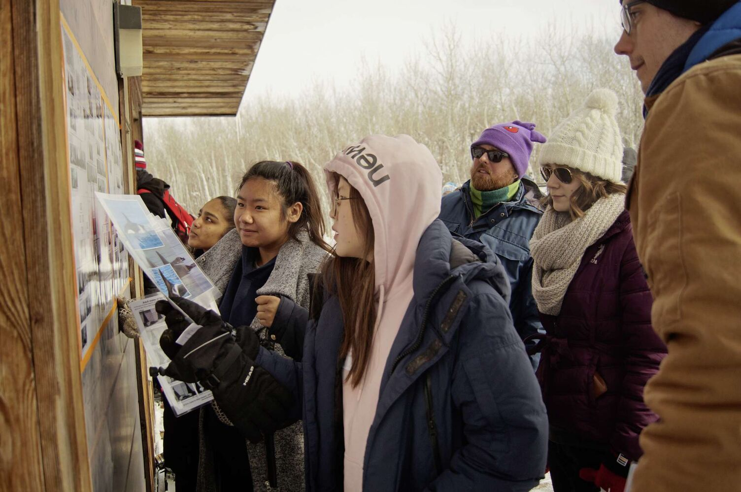 Over 150 middle school and high school students from across the province stopped by FortWhyte Alive on March 8 for the ninth annual Arctic Science Day and to meet the folks on the front lines of Arctic research.   (Danielle Da Silva - Sou'wester)