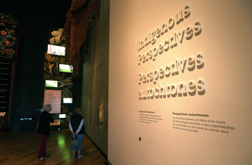 A former curator at the Canadian Museum for Human Rights says she was ordered to limit negative stories about missing and murdered indigenous women and the state of aboriginal child welfare and remove the term 'genocide' from any indigenous exhibits.