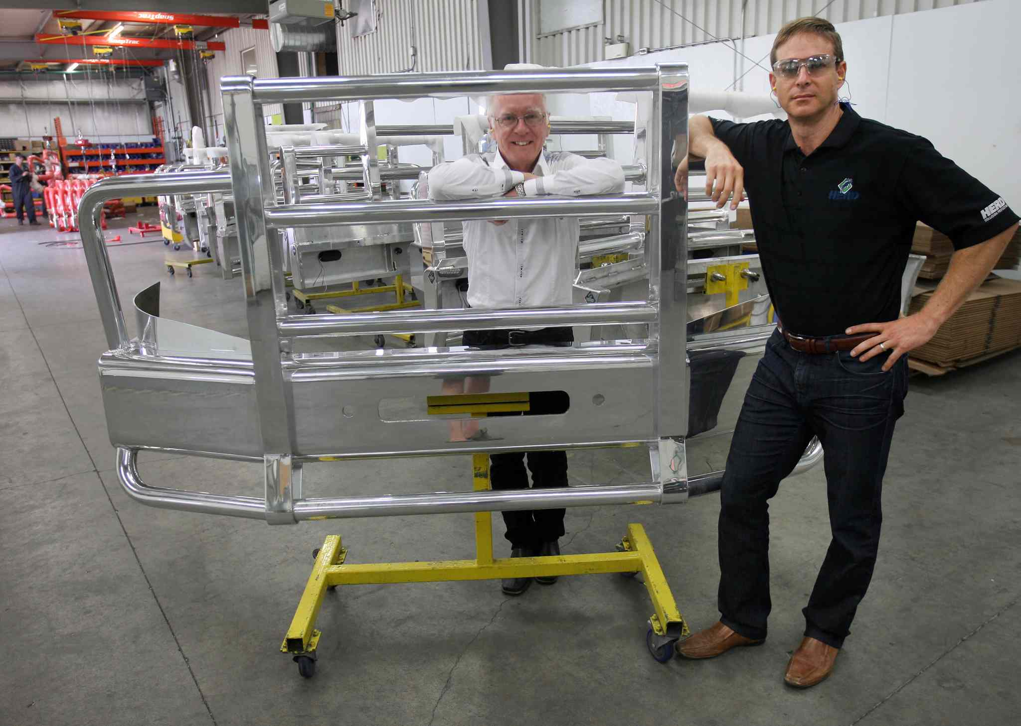 Herd north america inc is the largest manufacturer of grill and bumper guards for large