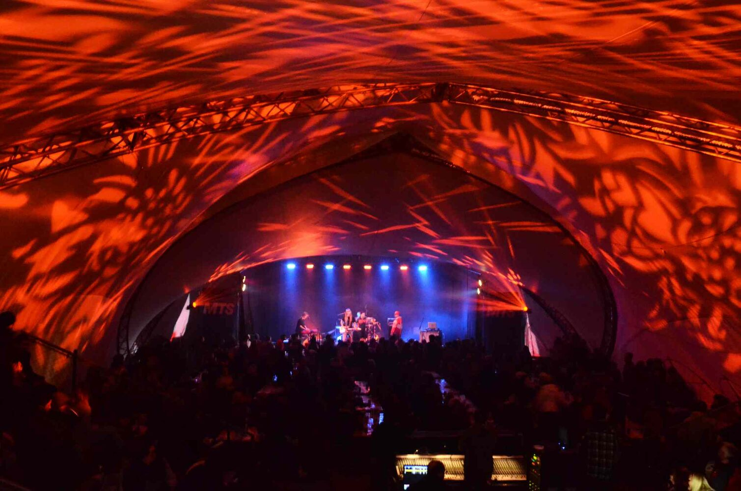 Mad' moi Zele GIRAF were on fire in the Riviere-Rouge tent. Doug Kretchmer photo