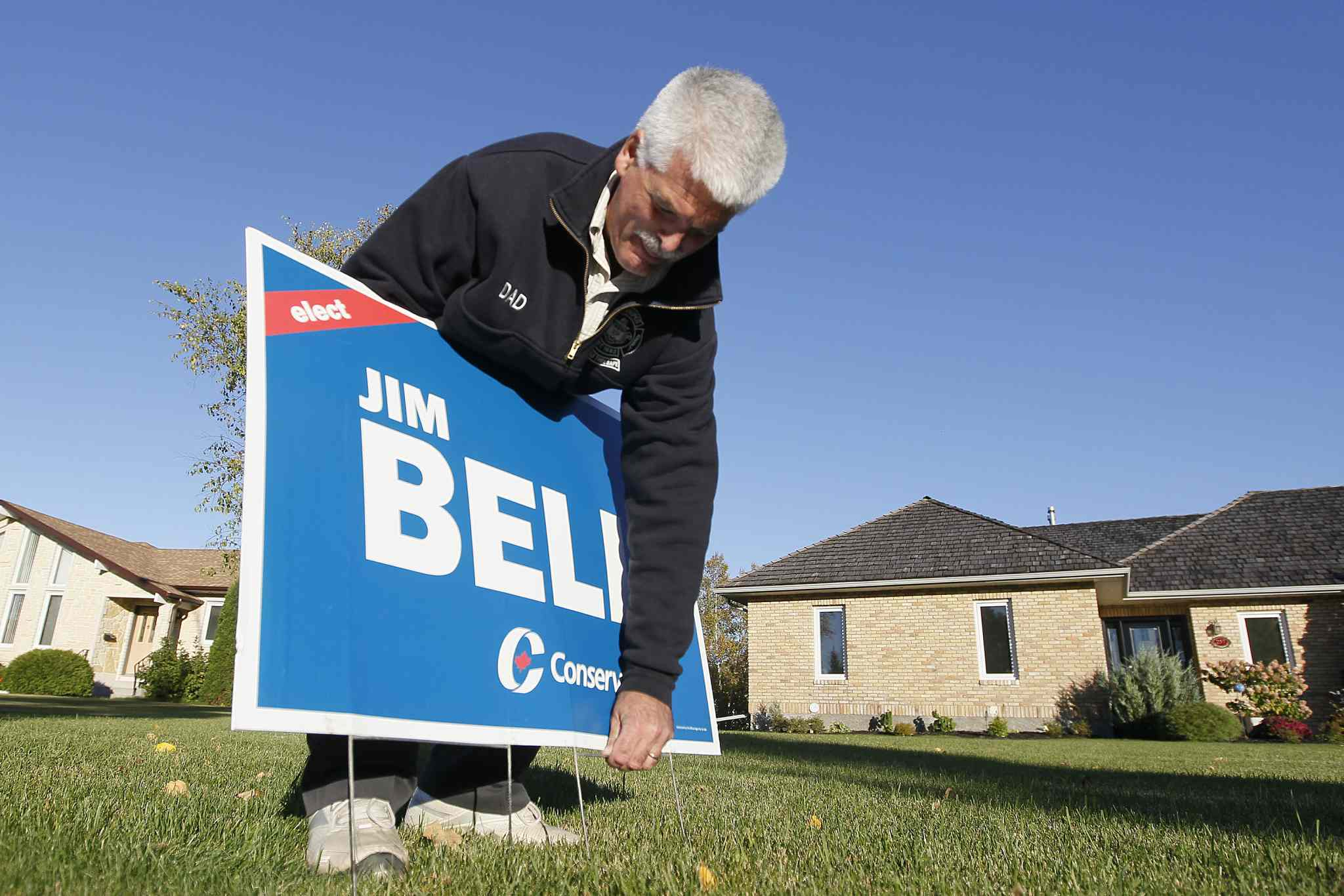 Jim Bell, Conservative candidate for Kildonan-St. Paul.