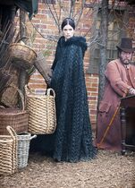 This photo provided by WGN America shows Janet Montgomery as Mary Sibley in WGN America's ''Salem,'' premiering Sunday, April 20, 2014, (10pm ET, 9pm CT). Cable channel WGN America is adding original scripted programming to its schedule with the debut of the drama. (AP Photo/WGN America)