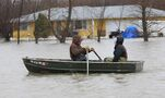 North Dakota edges toward record flooding