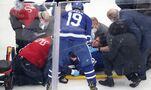 Maple Leafs captain John Tavares discharged from hospital, out of NHL playoffs indefinitely with concussion