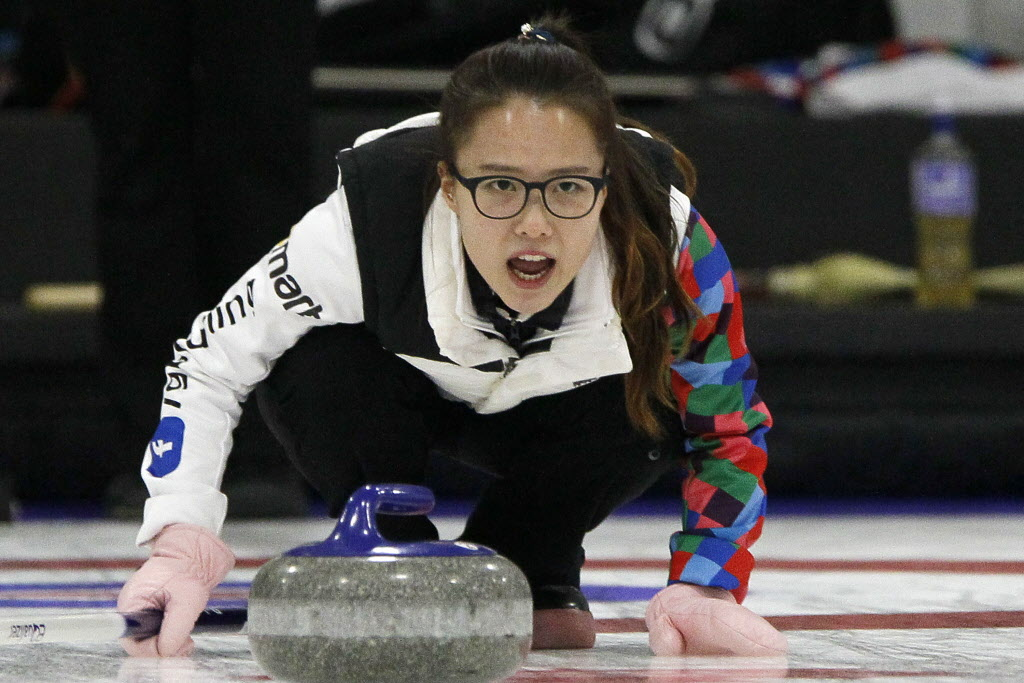 EunJung Kim emerged victorious in the Women's Classic in Portage La Prairie Sunday.