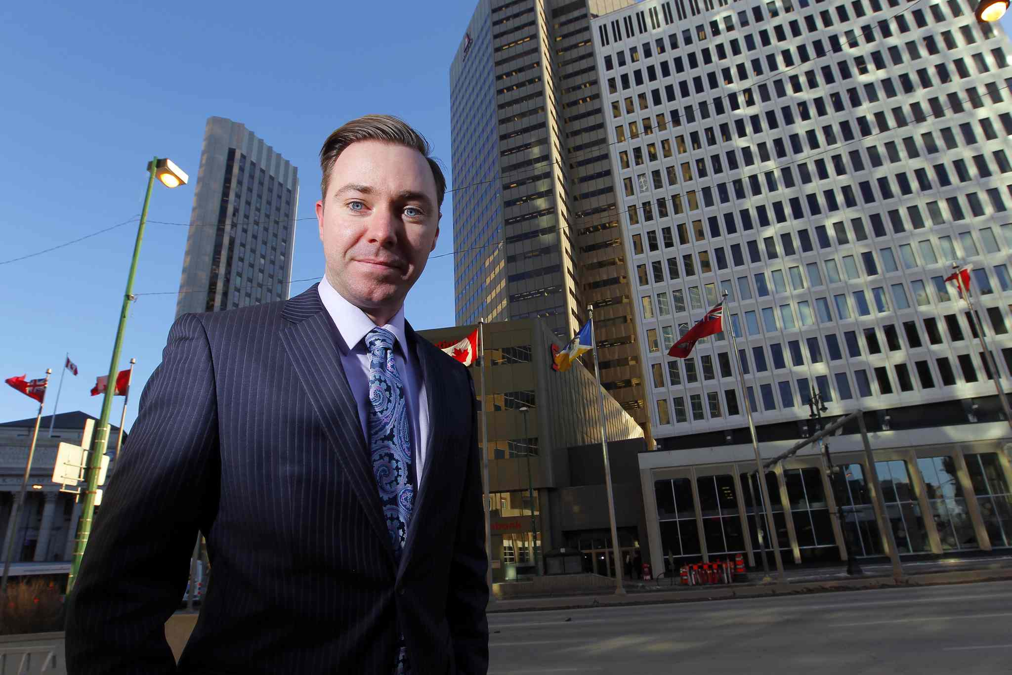 Ryan Behie of CBRE says the Winnipeg market has done well to let demand determine development, unlike some markets.