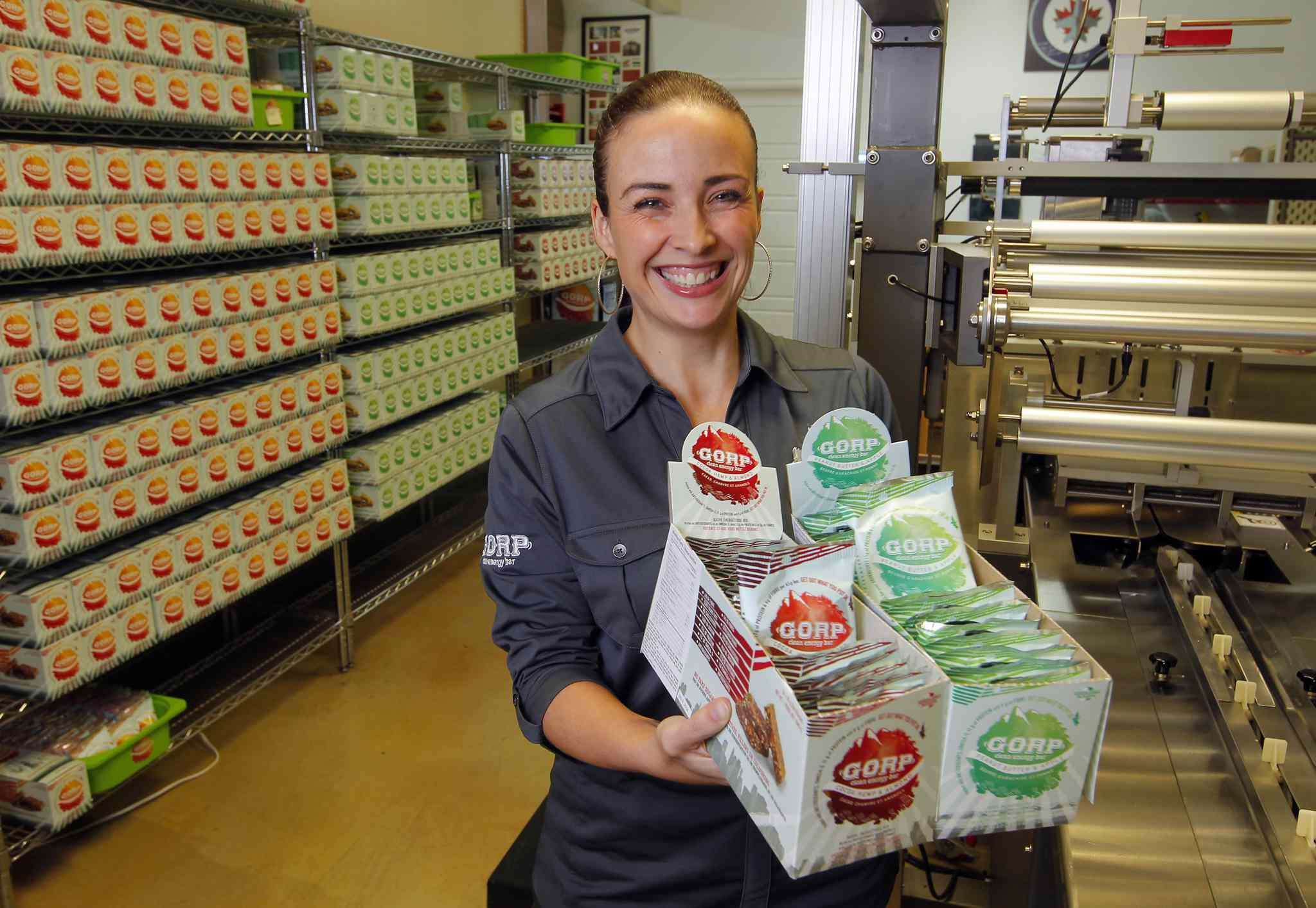 Colleen Dyck is the owner of GORP Clean Energy Bar.