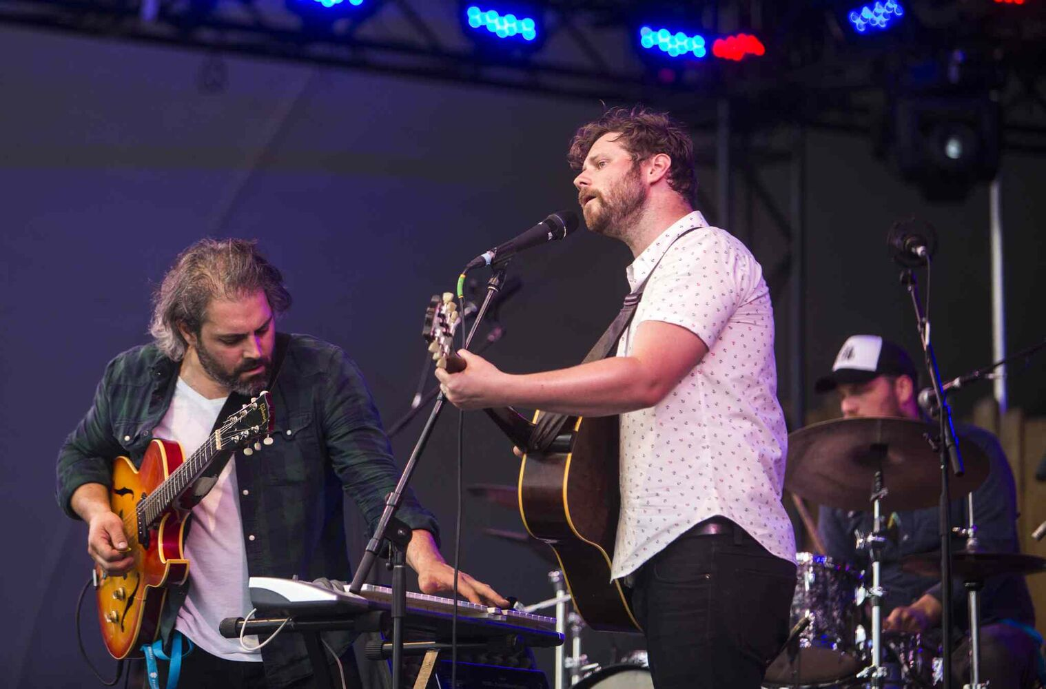 Dan Mangan + Blacksmith plays at the Winnipeg Folk Festival at Birds Hill Provincial Park on Saturday, July 11, 2015.   Mikaela MacKenzie / Winnipeg Free Press (Winnipeg Free Press)