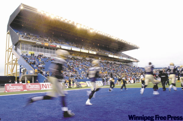 Further delays involving the football club's new stadium would require improvements to the existing Canad Inns Stadium, which would cost taxpayers money.