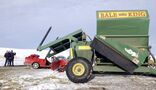 Go slow, stay safe when sharing road with farm equipment