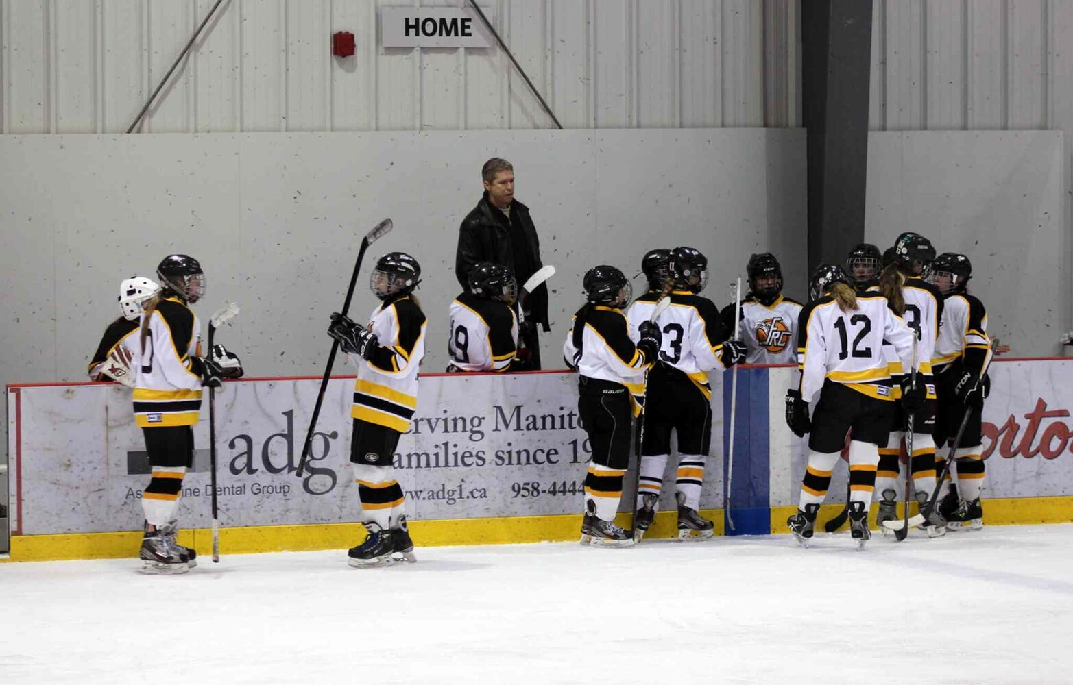 The Dakota Lancers defeated the Fort Richmond Centurions 2-0 in the WWHSHL Division A Championships March 13, 2014.  (Sou'Wester)