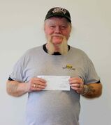 Newton Dalton won $1 million on Lotto 6/49.