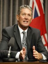 Brian Pallister says the province could build two outlets, on Lake Manitoba and Lake St. Martin, in three years.