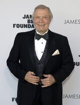 "FILE - In this May 5, 2014 file photo, restauranteur Jacques Pepin attends the 2014 James Beard Foundation Awards in New York. KQED Public Television, the San Francisco-based public television affiliate that has produced more than a dozen of Pepin's popular cooking series over the last quarter century, said in a release last week that it will begin recording Pepin's final series in October. Called ""Jacques Pepin: Heart and Soul,"" the 26-episode series will draw on the chef's 60 years in the kitchen and on past episodes he has recorded. It is scheduled to air in the fall of 2015. A companion cookbook, published by Houghton Mifflin Harcourt, will be released in October 2015. (Photo by Andy Kropa/Invision/AP, File)"