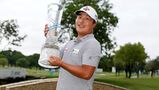 Lee wins Byron Nelson in rain; Pride takes 1st senior title